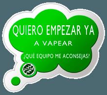Cigarrillo electrónico recomendado para iniciarse al vapeo